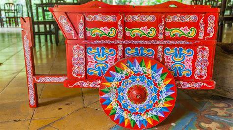 Las coloridas carretas típicas de Costa Rica