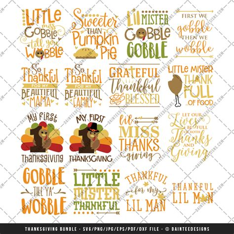 The free images are pixel perfect to fit your design and available in both png and vector. Thanksgiving Bundle 60% OFF! - SVG, DXF, EPS, Digital ...