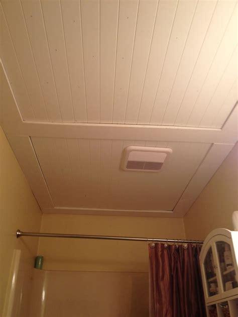 Bathroom Beadboard Ideas by Beadboard Ceiling Ideas Our Beadboard Bathroom Ceiling