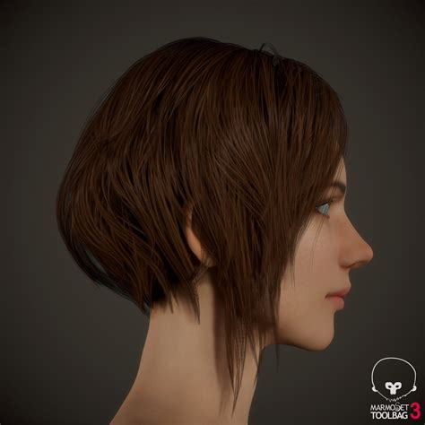 Hair To chang gon shin substance hair texture tutorial