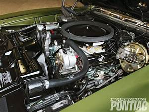 68 Gto Power Steering  A  C  Hose And Belt Routing
