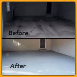 before after garage apron resurfacing tybo concrete