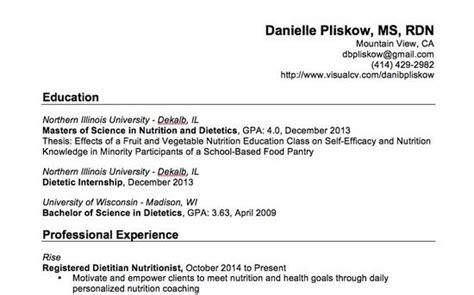 danielle pliskow registered dietitian nutritionist rise