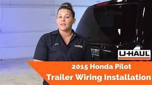 2015 Honda Pilot Trailer Wiring Installation