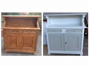 renover cuisine bois rnovation de cuisine en bois massif With renovation meuble cuisine en chene
