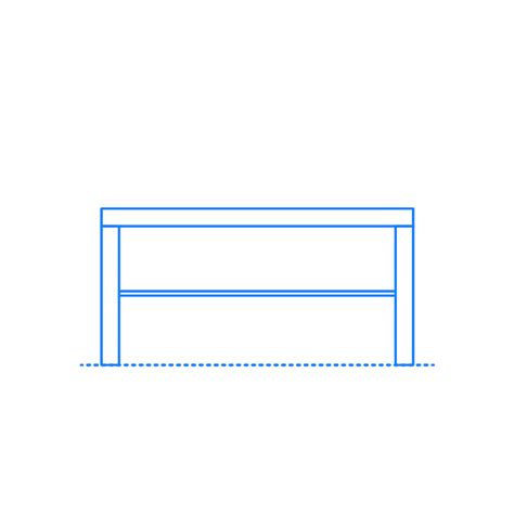 Model of the ikea coffee table called lack. IKEA Lack Coffee Table Dimensions & Drawings | Dimensions.Guide