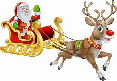 Rudolph Santa Clipart Reindeer Transparent Claus Christmas