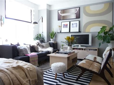 Sofa For Studio Apartment by 5 Genius Ideas For How To Layout Furniture In A Studio