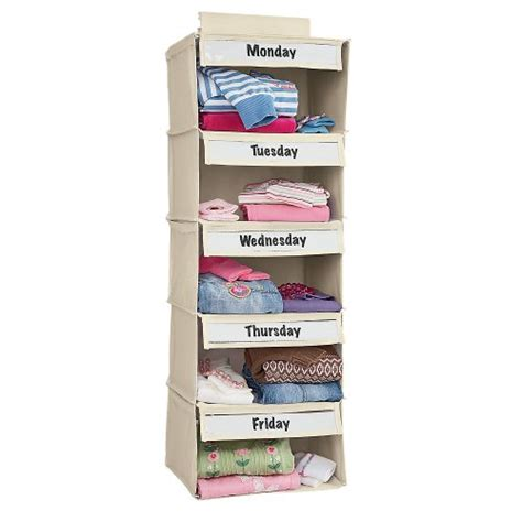 Days Of The Week Closet Organizer For days of the week closet organizer