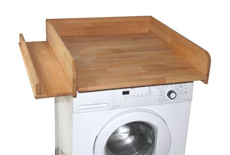Wickelauflage Für Waschmaschine by Wickeltischaufsatz Mit Seitlicher Ablagefl 228 Che Aus Echtem