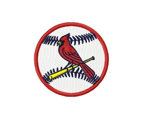 stlouis cardinals logos package machine embroidery design