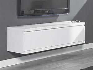 Lowboard Weiß Hochglanz Hängend : lowboard wandh ngend wohnzimmer h ngeschrank 120x32cm wei matt ebay ~ Indierocktalk.com Haus und Dekorationen