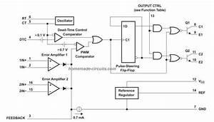 Tl494 Datasheet  Pinout  Application Circuits