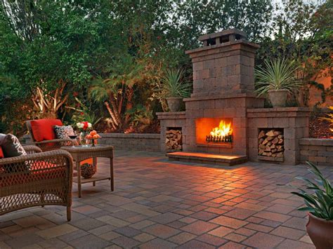 Outdoor Fireplace San Diego, Backyard Gas Fireplaces San