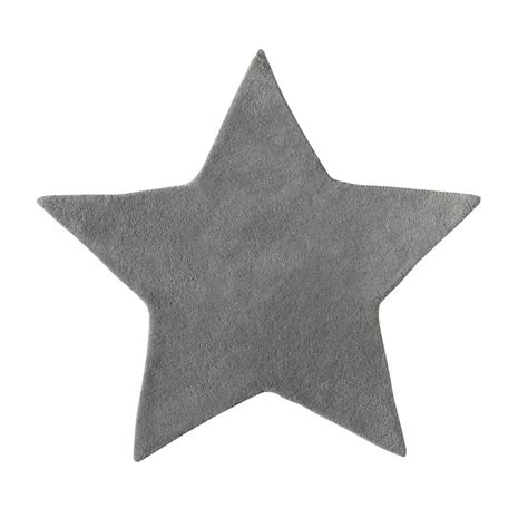 modele de chambre pour ado garcon tapis en coton grise h 100 cm étoile maisons du monde