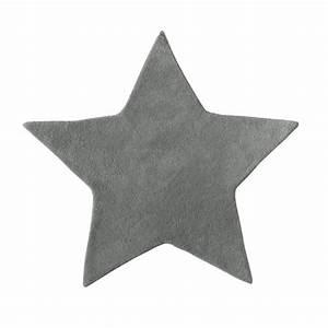 Tapis Etoile Gris : tapis en coton grise h 100 cm toile maisons du monde ~ Teatrodelosmanantiales.com Idées de Décoration