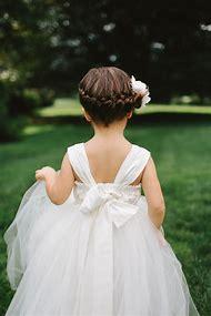 Little Flower Girls Wedding Hairstyles