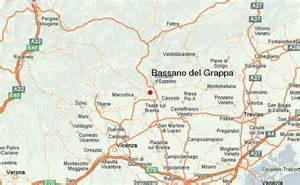 Bassano Del Grappa Italy Map