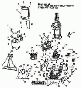 Hoover Carpet Cleaner Parts Diagram