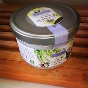 Masque Capillaire Huile De Coco : j 39 ai achet un pot de 400g d 39 huile de coco bio extraite froid et c 39 est reparti pour 3 mois ~ Melissatoandfro.com Idées de Décoration