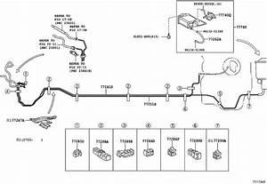 2007 Toyota Yaris Fuel Line  Tube  Tank  Body
