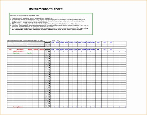 Business Ledger Template by 10 General Ledger Template Pdf Sletemplatess