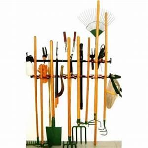 Outil De Jardinage Professionnel : range outils fixe crochet fixation outil abris de jardin ~ Premium-room.com Idées de Décoration