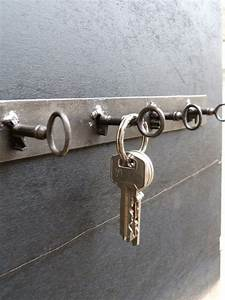 Porte Clé Mural Bois : porte cl s murale design m tal industriel deco pinterest porte cl mural murale design et ~ Nature-et-papiers.com Idées de Décoration