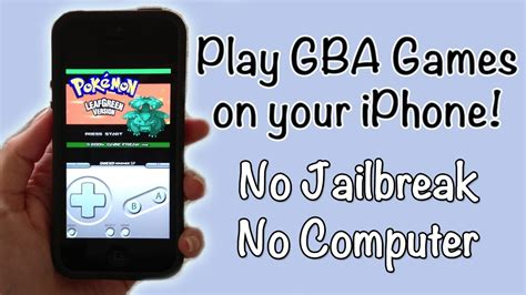 play iphone on pc how to play gameboy advance on your iphone no
