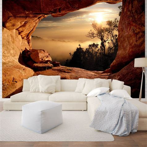 giant size wall mural wallpapers mountain view