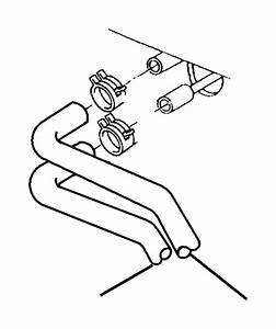 Dodge Ram 2500 Hose  Heater Core  Outlet