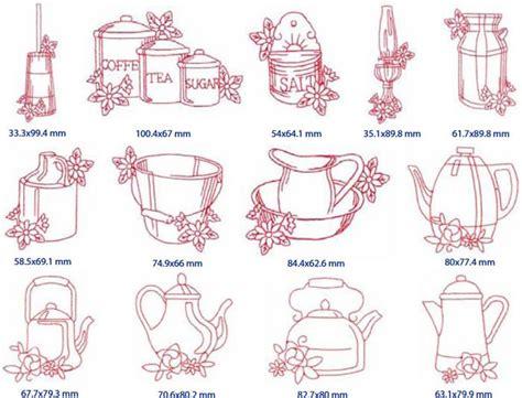 kitchen embroidery designs janome australia embroidery design esqa redwork country 1596