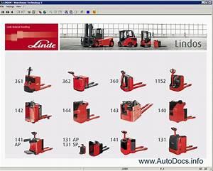 Linde Lindos 2011 Spare Parts Catalog  Workshop Service