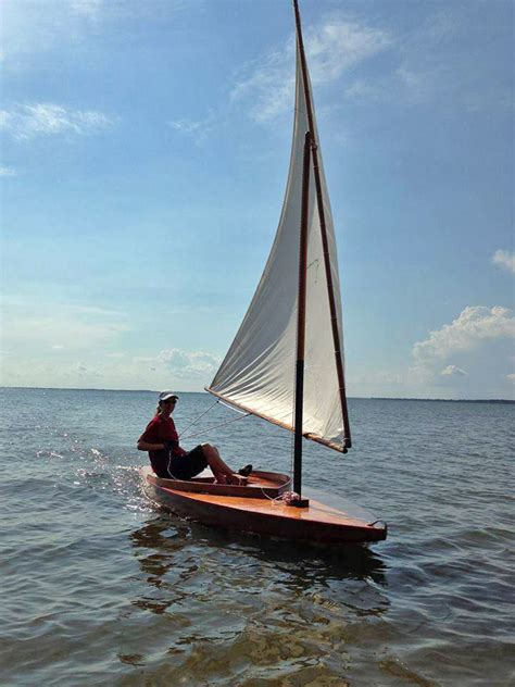 Sunfish Boat by Zip A 1953 Sunfish Sailboat Acbs Antique Boats