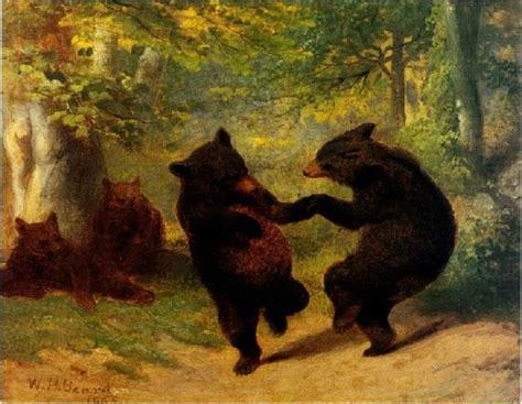 artist teddy bears picnic famous bear paintings