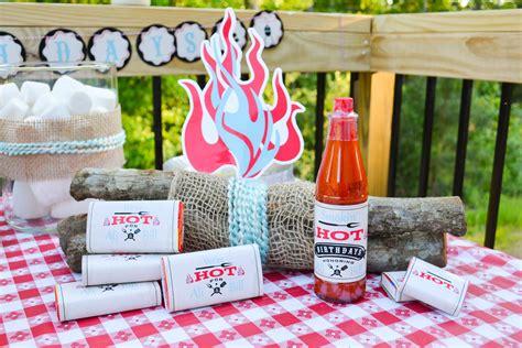 birthday party ideas rookie ruff draft smokin 39 hot bbq birthday party anders ruff