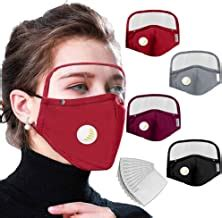 Amazon.com: face mask with eye shield