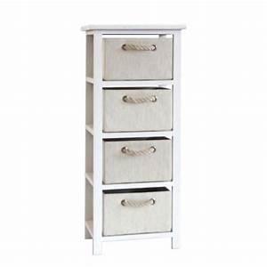 meuble rangement salle de bain la redoute finest philips With la redoute petit meuble de rangement