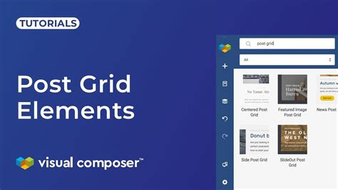 post grid  data source visual composer website builder