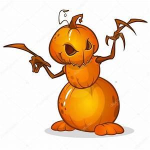 Tete De Citrouille Pour Halloween : pouvantail de dessin anim halloween avec t te de citrouille personnage de dessin anim de ~ Melissatoandfro.com Idées de Décoration
