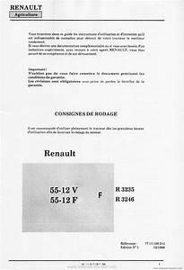 Controle Technique Ploemeur : livret d 39 entretien et d 39 utilisation renault 55 12vf ~ Nature-et-papiers.com Idées de Décoration