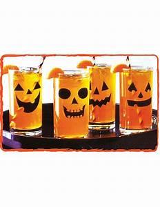 Aufkleber Für Gläser : 12 k rbis aufkleber f r gl ser halloween dekoration ~ A.2002-acura-tl-radio.info Haus und Dekorationen