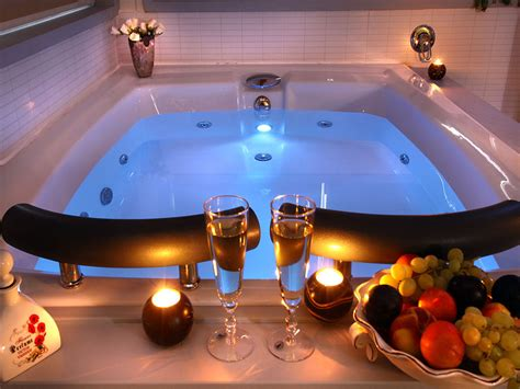 tub couples beautiful bathroom with candles