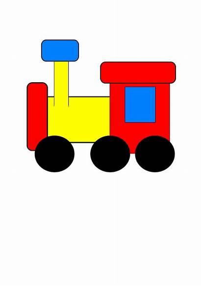Train Clip Engine Clipart Trains Steam Cliparts