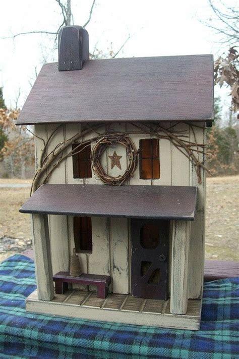 Farmhouse Primitive Birdhouse Rustic Amish