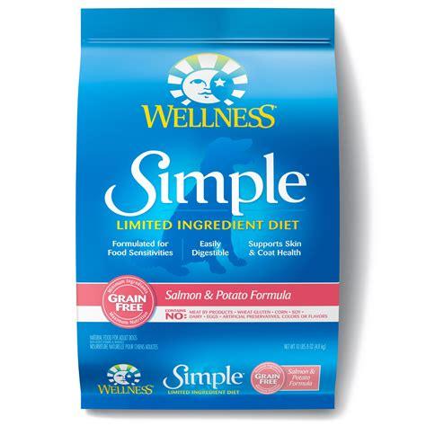 id馥s cuisine simple wellness simple limited ingredient diet salmon potato grain free food petco