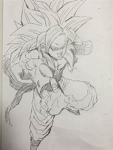 Super Saiyan 4 Gogeta, I'm assuming | Desenhos dragonball ...