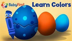 Learning Colors for Kids   Surprise Egg Cartoons for Kids ...