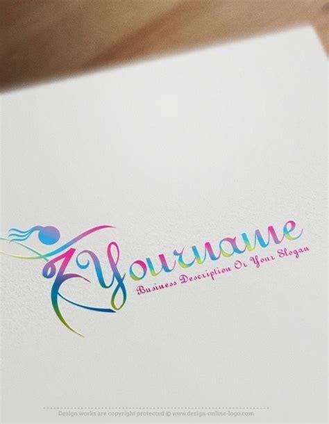 exclusive design woman dancing logo compatible