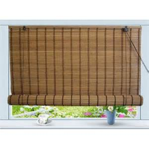 bamboo roll up window blind sun shade w30 quot x h72